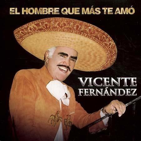Cd + Dvd Vicente Fernandez El Hombre Que Mas Te Amo Nuevo