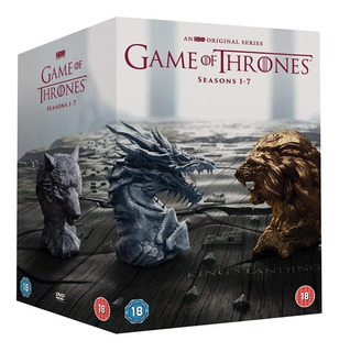 Game Of Thrones (serie Completa) + Libros Envío Incluido
