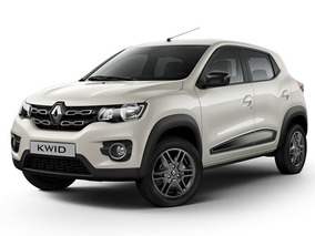 Renault Kwid Intens 2018 0km Marfil Contado Financiado Autos