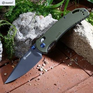 Canivete Ganzo G753 Tático Verde Original
