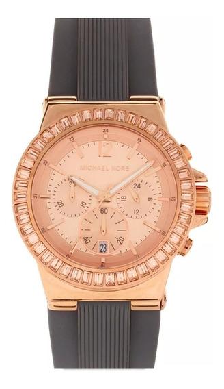 Relógio Luxo Michael Kors - Mk5467 Chron Anal Gold Rosé