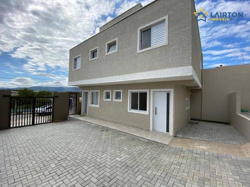 Casa Com 2 Dormitórios À Venda, 61 M² Por R$ 260.000,00 - Jardim Das Cerejeiras - Atibaia/sp - Ca2332