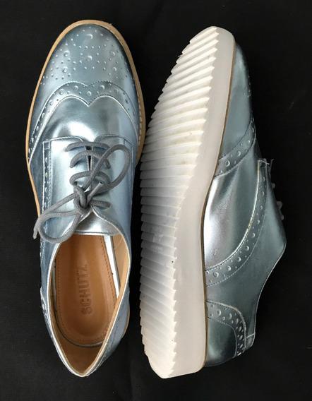 Sapato Orford Schutz Prateado