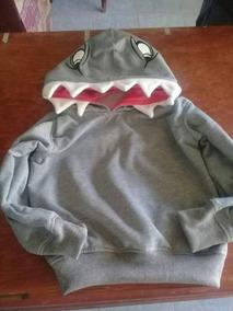 Sudadera En Forma De Tiburon