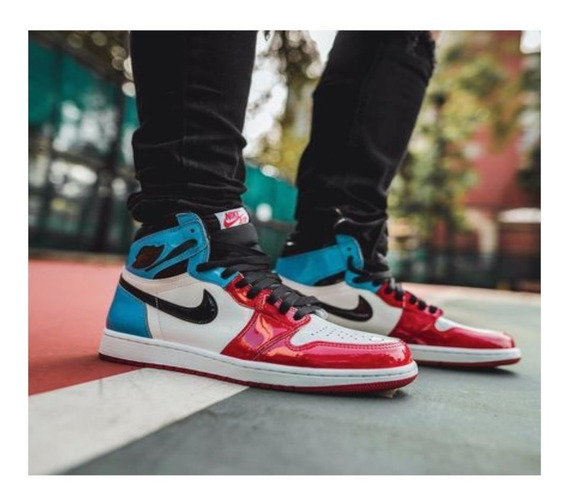 Tenis Nike Jordan 1 Retro High Fearless Originales Nuevos