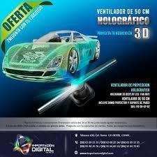 Abanico De Holograma 3d Para Eventos, Bodas, Promociones...