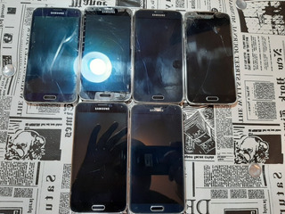 Celular Samsung Galaxy S5 Lote Com 6 Peças Com Tela Trincada