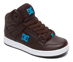 Tenis Dc Shoes Rebound Café