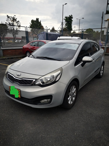 Kia Rio Ub Ex 2014 Sedan Color Beige Excelente Oportunidad