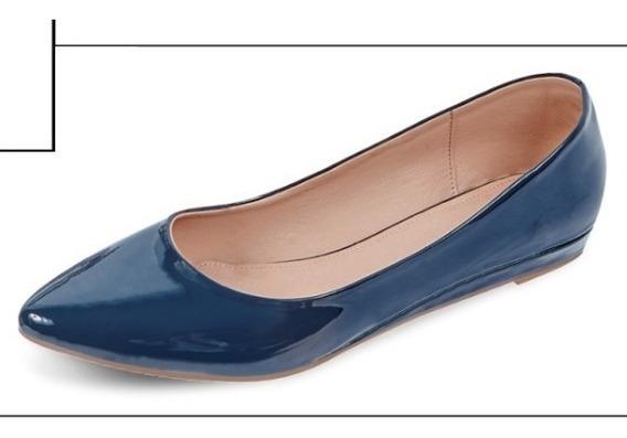 Zapato Bajo 2 Cm P/dama 00130 Ck O19 Uy4