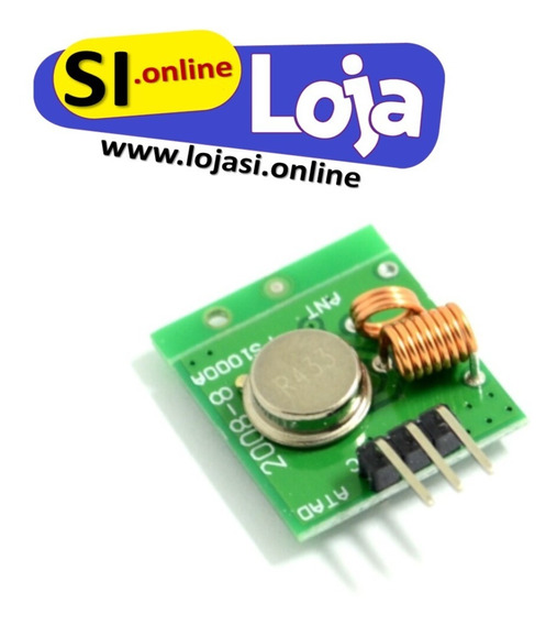 Sensor Transmissor Sem Fio De Alarme - 315m Arduino