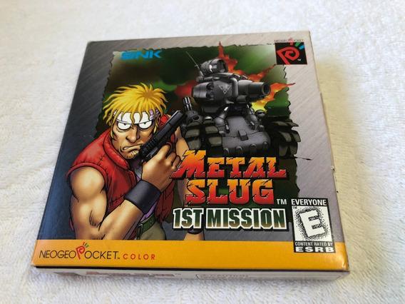 Metal Slug 1st Mission (neo Geo Pocket Color,1999) Completo