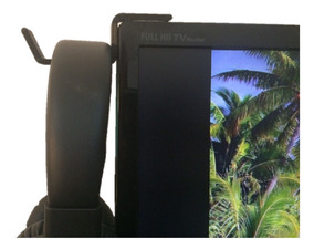 Suporte P/ Fone Headset Headphone Monitor Tv + Fita