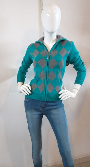 Suéter Para Dama Color Turquesa