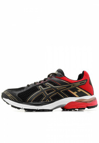 Tênis Masculino Asics Gel-shogun Black/rich Gold 1z11a007-00