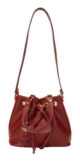 Bolsa Feminina Monica Sanches 3420 Canguru Berry