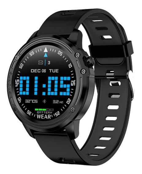 Smartwatch Relógio Inteligente Redondo Homens Ios E Android