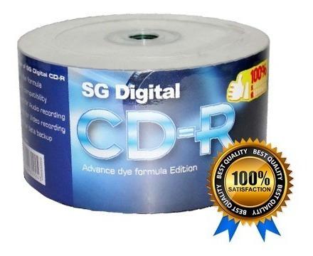 Cd Virgen Sg Digital Rotulado 56x 700 Mb 80min