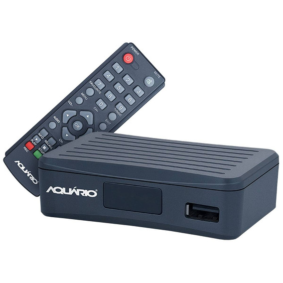 Conversor Fullhd P/ Tv C/ Usb/hdmi/gravador Dtv4000 Aquário