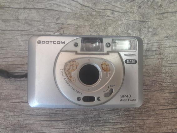 Câmera Antiga Dotcom Sp40 Auto Flash