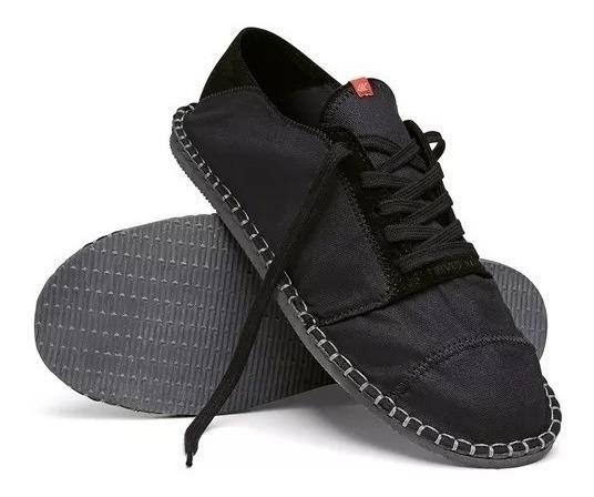 Tênis Alpargata Havaianas Sneaker Lançamento Masculino Preto