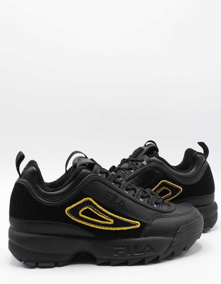 Tenis Fila Disruptor Patches Negro