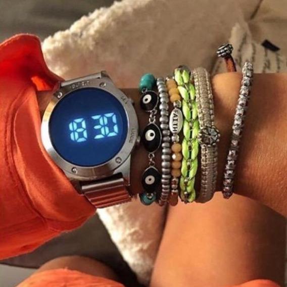 Relógio Euro Feminino Fashion Fit Prata Eujhs31baa/3a