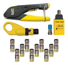 Kit De Instalación Cable Coaxial Vdv002-818 Klein Tools
