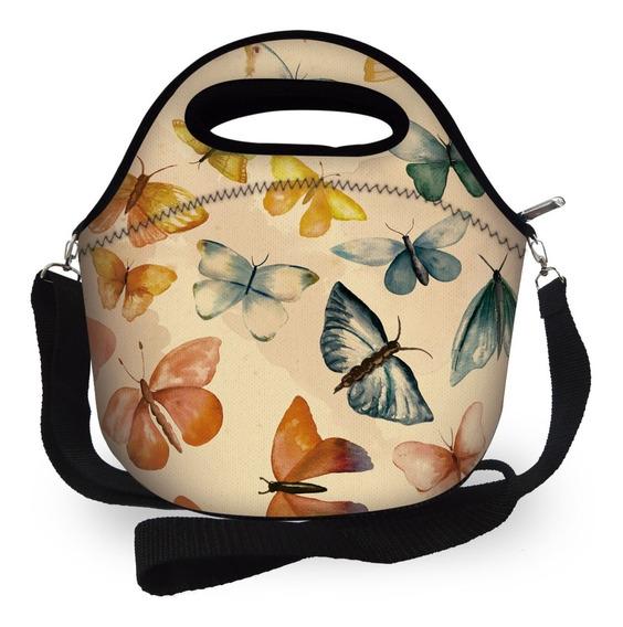 Lancheira Bolsa Térmica Neoprene - Isoprene Butterflies 2