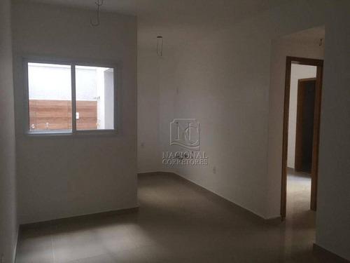 Apartamento À Venda, 56 M² Por R$ 359.000,00 - Vila Bastos - Santo André/sp - Ap8566