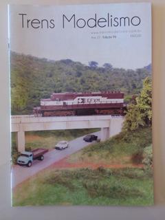 Revista Trens Modelismo Edição 96 Ferromodelismo