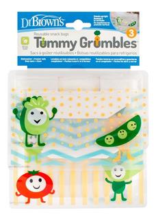 Bolsas Reutilizables Para Snacks Bebés Dr Browns 3 Piezas