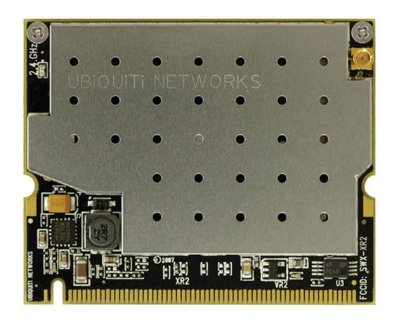 Cartão Rede Mini Pci Xr2 Ubiquiti® + Pigtail Mmcx