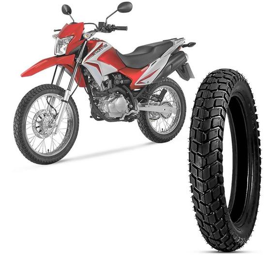 Pneu Moto Nxr 150 Bros Levorin Aro 17 110/90-17 60p Traseiro Duna Evo