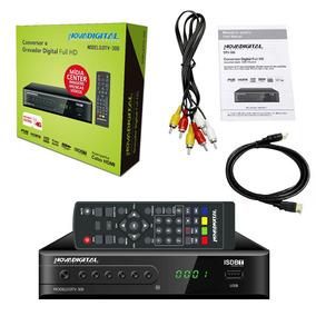 2x Conversor Tv Digital Filtro 4g Novadigital Dtv-300