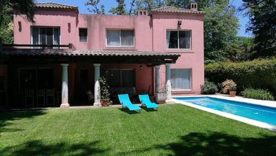 Casa En Alquiler Barrio Privado Villa Bertha