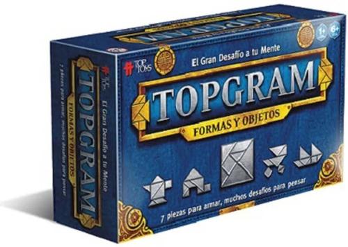 Juego De Mesa Topgram Formas Y Objetos Top Toys