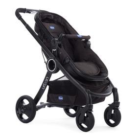 Carrinho Urban Plus + Cadeira Auto Key Fit Chicco Black