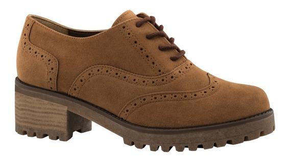 Gosh Zapatos Oxford Tacon Agujetas Casual Dama 0v86f-04 Vali