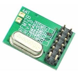 Módulo Transmissor De Dados Sem Fio Rfm12b-dip - 433 Mhz