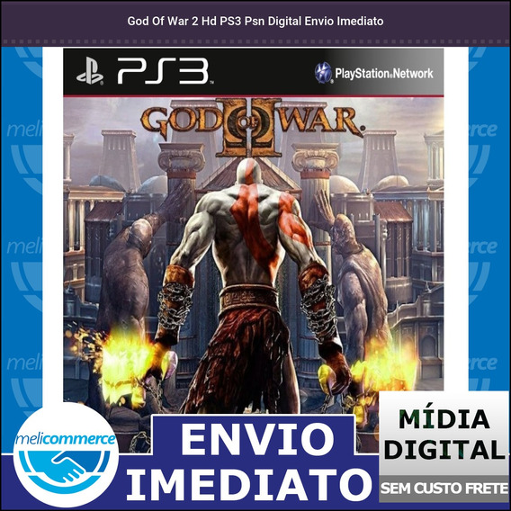 God Of War 2 Hd Ps3 Psn Digital Envio Imediato