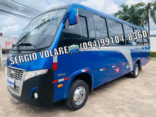 Imagem 1 de 15 de Micro Ônibus Volare W8 Executivo Cor Azul Ano 2014/2015