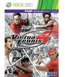 Virtua Tennis 4 Xbox Nuevo Envio Gratis
