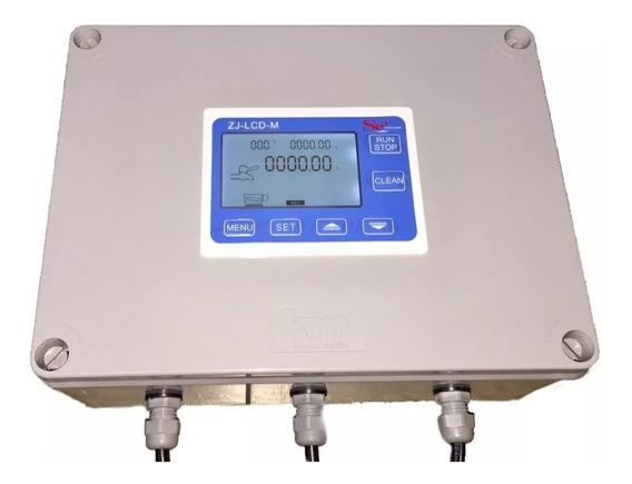 Medidor Fluxo Dosador Água Automático Digital 2 Pol Montado