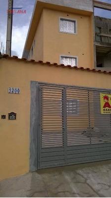 Casa Com 1 Dormitório Para Alugar, 43 M² Por R$ 650/mês - Companhia Fazenda Belém - Franco Da Rocha/sp - Ca0599