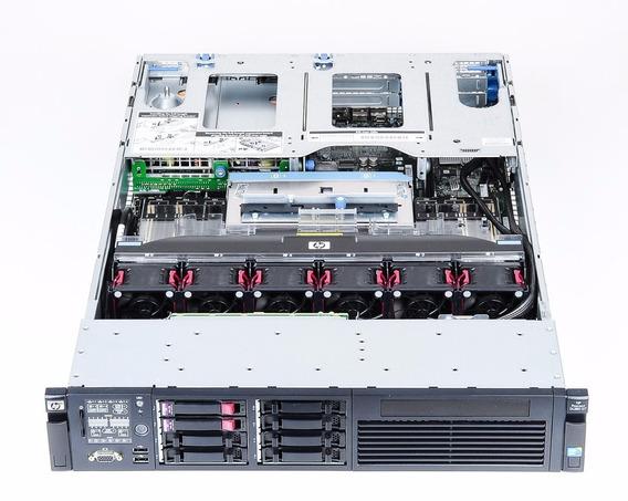 Servidor Hp Proliant Dl380 G7 16gb 2 Processador Xeon E5620