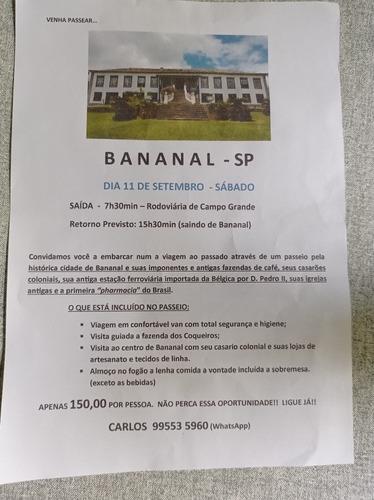 Imagem 1 de 5 de Excursão A Bananal Sp