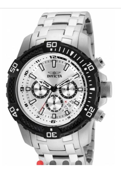 Relógio Invicta 24854 Pro Diver Masculino Prata