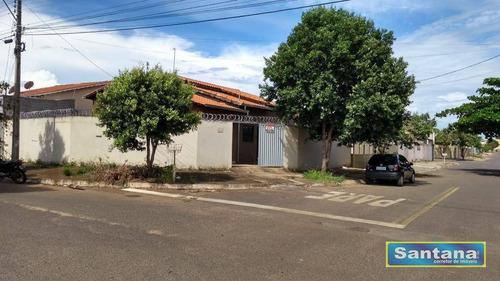Casa Com 2 Dormitórios À Venda, 70 M² Por R$ 160.000,00 - Itaguai Iii - Caldas Novas/go - Ca0016