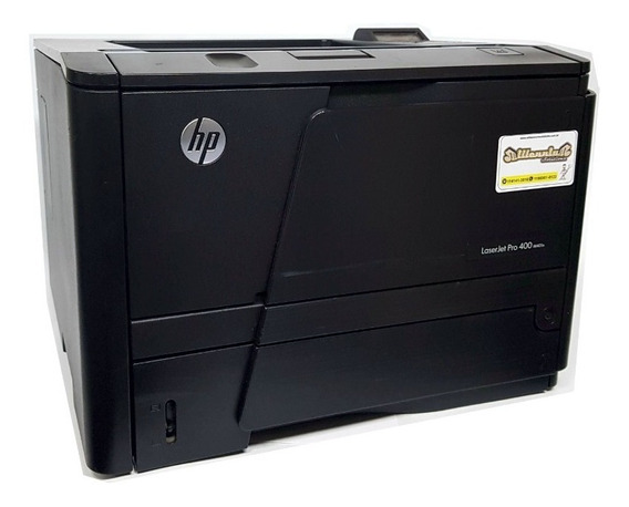 Impressora Hp Laser Jet Pro 400 M401n + Toner Compatível